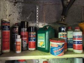 Job lot car lubricants