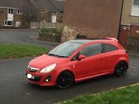 Vauxhall corsa limited edition 2012