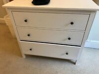 White Ikea chest drawers