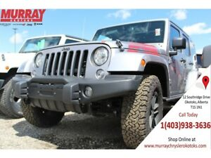 2017 Jeep WRANGLER UNLIMITED UNLIMITED WINTER EDITION 4WD