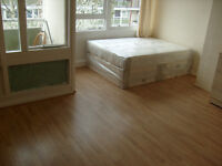 huge double room with Tv, Fridge, Two beds and Balcony, close to GYM, Library, Shops and buses