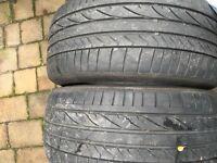 Bridgestone potenza run flat tyres