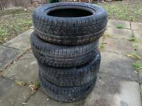 Winter tyres Continental 235/60/18R