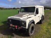 Land Rover 110 Defender Hard Top Puma Mobile Workshop or change it to what ever you want!