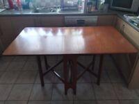 G Plan Teak Dining Table Drop Leaf Gateleg Vintage 70's
