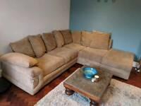 Corner Sofa, fabric