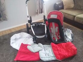Mothercare pushchair, almost new condition, only been used a few times at grandmas house.