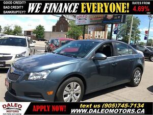 2012 Chevrolet Cruze LT Turbo NO CREDIT CHECK LEASING