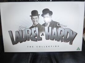 Laurel & Hardy box set 21 DVD's