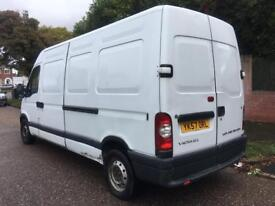 VAUXHALL MOVANO 2.5 CDTI 3.5T LWB 2007 STARTS AND DRIVES SPARES OR REPAIRS