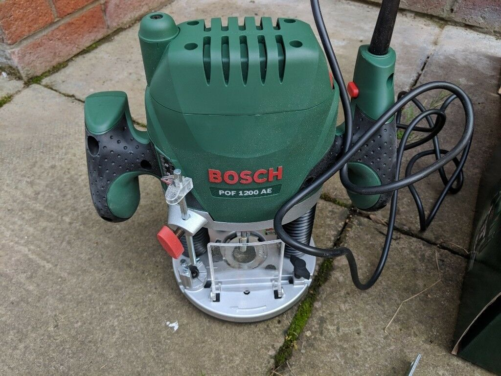 Bosch pof 1200 ae router in irvine north ayrshire gumtree bosch pof 1200 ae router greentooth Images