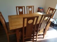Amazing Condition Wooden Dining Room Table
