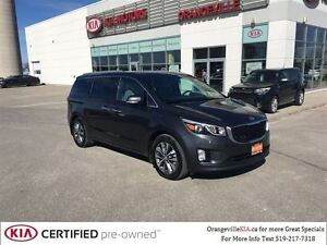 2016 Kia Sedona SX+ 7-Passenger - Leather/Power Tailgate