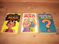 Mad paperbacks and Mad magazine