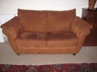 Natuzzi Tan 2 seeter sofa free to uplift