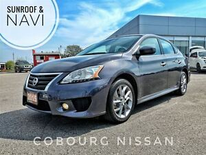 2015 Nissan Sentra 1.8 SR Navi Sunroof  FREE Delivery