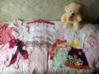 Baby girl clothes bundle - Newborn and 0-3 months