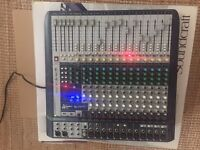 Soundcraft Signature 16 USB Mixing Desk.