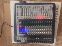 Soundcraft Signature 16 Analogue Mixer.