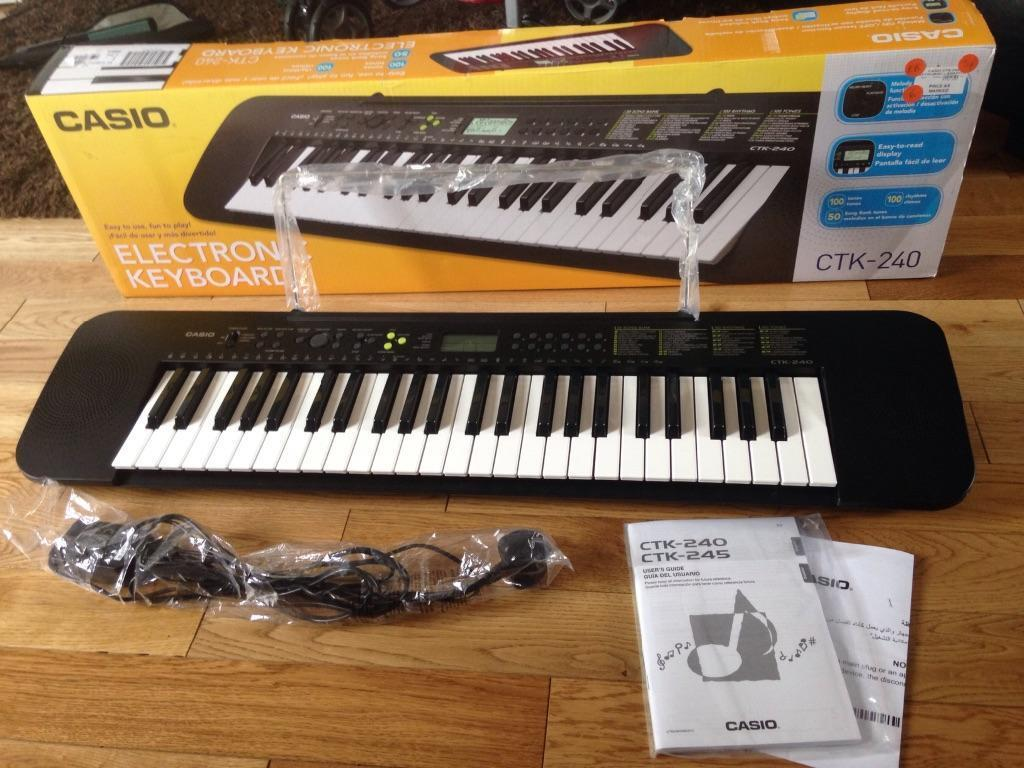 casio ctk 240 electronic keyboard in norwich norfolk gumtree. Black Bedroom Furniture Sets. Home Design Ideas