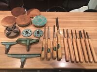 Lathe and tooling job lot