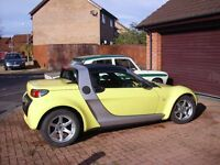 2004 Smart Roadster Silver/Yellow