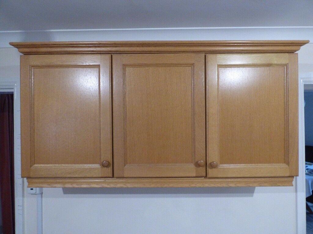 3 Door Kitchen Wall Cabinet In Budleigh Salterton Devon Gumtree