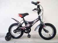 """FREE Bell with (2630) 12"""" 8"""" GIANT Boys Girls Kids Bike Bicycle + STABILISERS; Age: 3-4, 90-105 cm"""
