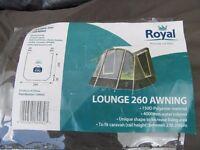 Royal Lounge 260 Caravan Awning