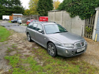 ++++QUICKSALE WANTED 2005 AUTOMATIC ROVER 75 DIESEL AUTOMATIC+++DRIVES GOOD FULL LEATHER INSIDE+++
