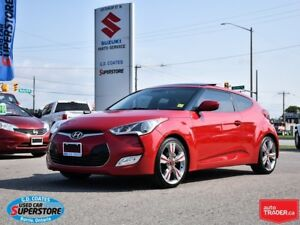2012 Hyundai Veloster ~Nav ~Backup Cam ~Heated Seats ~Panoramic