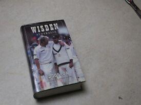 Wisden Cricketers Almanac Australia 2005-2006 Hardback with colour dust cover