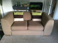 2 sofas, 1 is sofa bed