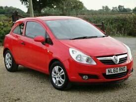 2010 Vauxhall Corsa 1.0 Energy ** GENUINE 12,000 MILES / FULL 12 MONTH MOT **