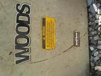 "60"" Woods Mower"