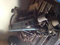 1955 Chevy 6 cylinder motor with trans original