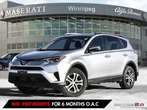 2017 Toyota RAV4 LE: LOCALLY OWNED, ONE OWNER, HEATED SEATS