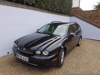 Top the range LEFT HAND DRIVE Jag estate, every extra fitted