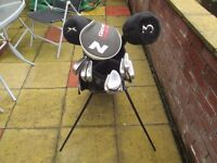 Golf Clubs (full set) and Carry bag