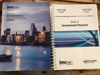 IMC (Investment Management Certification) 13th Edition Unit 2 Books CFA Institute