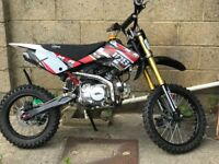 M2r 125 big wheel pit bike