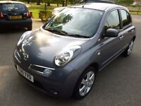 Nissan Micra 1.2 16v N-TEC 5dr with Factory fitted SAT.NAV.