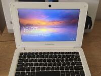 10 inch notebook laptop used once. excellent condition with box