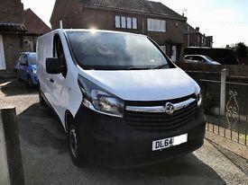 Vauxhall vivaro 1.6cdti lwb 2014