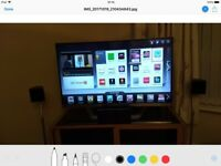 "LG 42"" 3D TV with 6 x 3D Blu-rays."