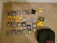 Retro games console bundle Gameboy megadrive and games