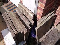 Paving slabs - Free