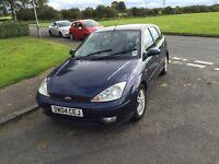 Ford Focus 1.6 16v Full years mot reduced