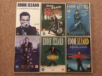 Eddie Izzard DVD box set 6-discs