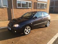 2006 SEAT IBIZA 1.4 DAB SPECIAL EDITION BLACK + STUNNING CONDITION